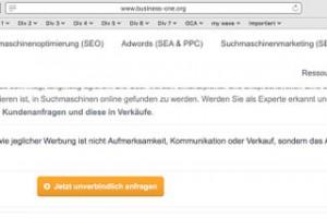 Websiteerstellung